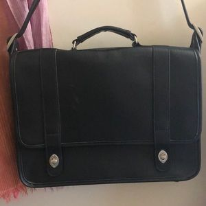 Coach briefcase/laptop bag